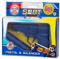 Wholesalers of Die Cast Cap Gun With Silencer toys image 2